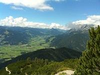 view to the west, my home-qth Leogang
